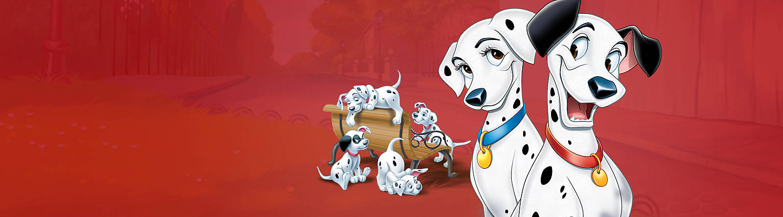 101 Dalmatians Find a soft spot for our range 101 Dalmatians inluding soft toys, clothing, gifts, collectibles and more