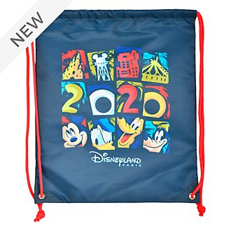 Disneyland Paris Mickey and Friends 2020 Drawstring Bag