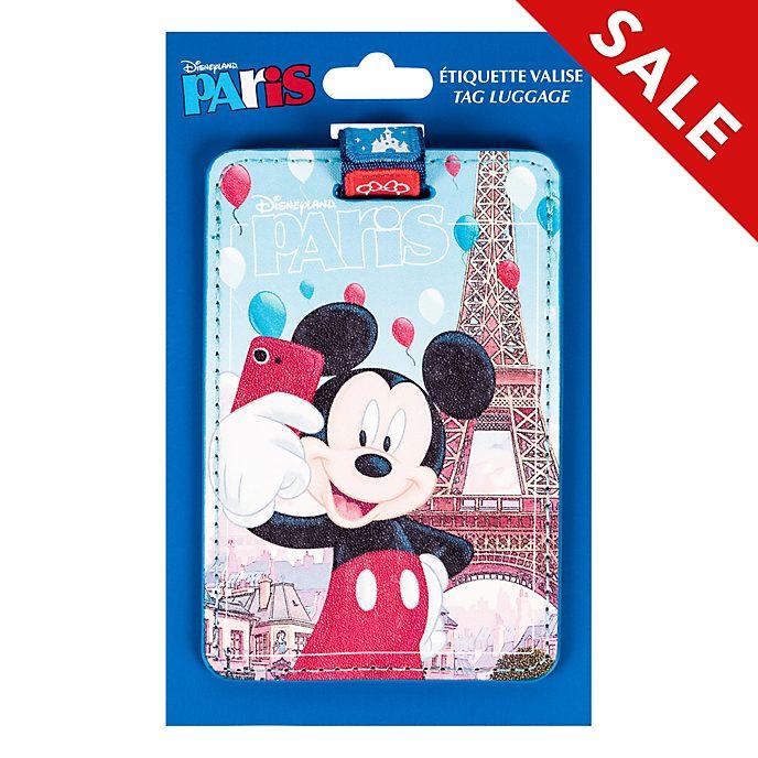 Disneyland Paris Mickey Mouse Luggage Tag
