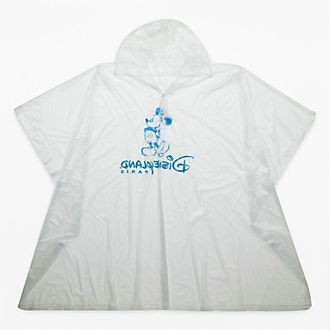 Disneyland Paris Rain Poncho for Adults