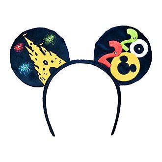 Disneyland Paris Mickey Mouse 2020 Ears Headband for Adults