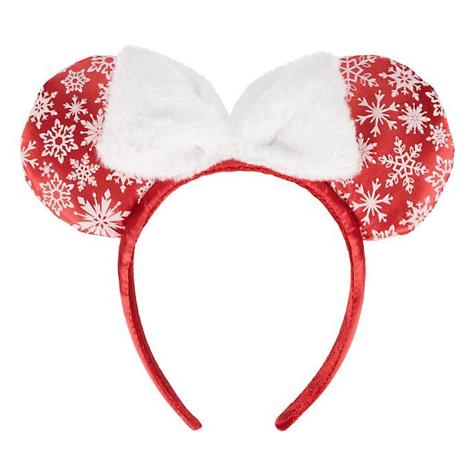 Serre-tête oreille Noël Minnie Mouse Disneyland Paris