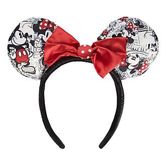 Serre-tête oreille intemporel Mickey&Minnie Disneyland Paris