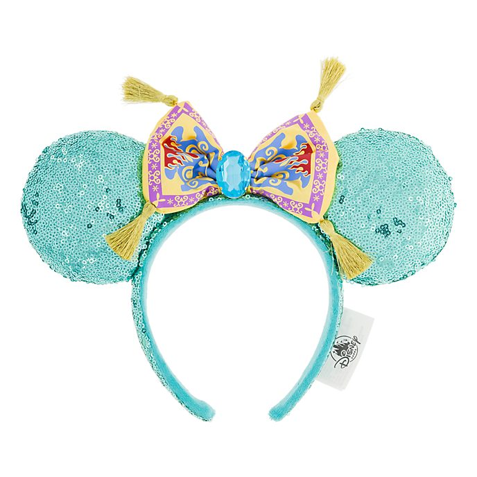 Disneyland Paris Princess Jasmine Ears Headband For Adults