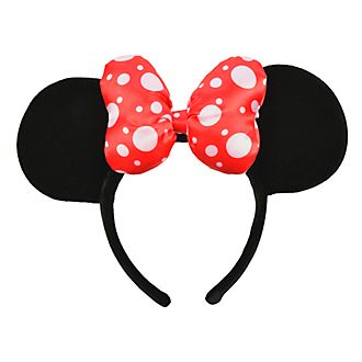 Disneyland Paris Minnie Mouse Ears Headband for Adults