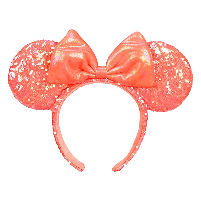 Disneyland Paris Minnie Mouse The Little Mermaid Coral Ears Headband for Adults