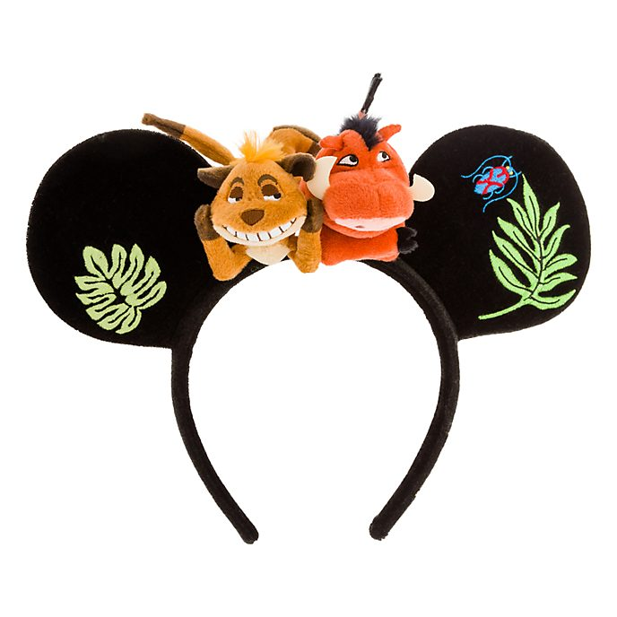 Disneyland Paris Serre-tête Timon et Pumbaa pour adultes, Le Roi Lion