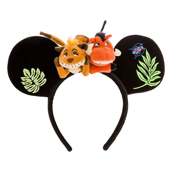 Disneyland Paris Timon and Pumbaa Ears Headband For Adults, The Lion King