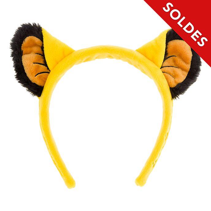 Disneyland Paris Serre-tête oreilles de Simba pour adultes, Le Roi Lion