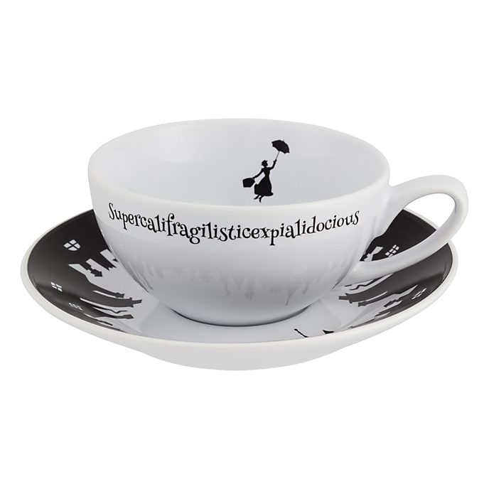 Disneyland Paris Mary Poppins Teacup and Saucer