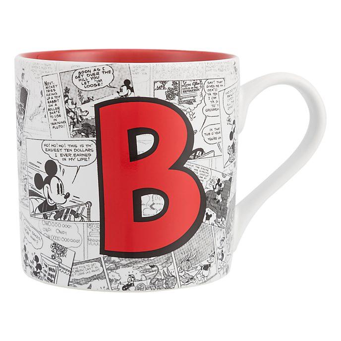 Mug Alphabet Lettre B Disneyland Paris