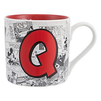 Mug Alphabet Lettre Q Disneyland Paris