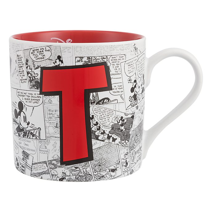 Mug Alphabet Lettre T Disneyland Paris