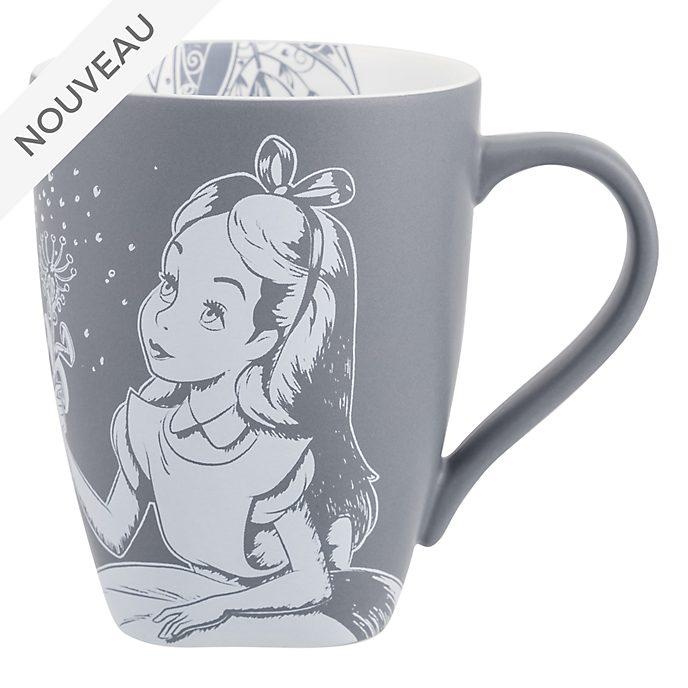 Disneyland Paris Mug baroque Alice au Pays des Merveilles