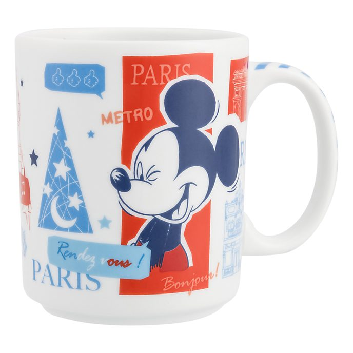 Tasse à illustration parisienne Disneyland Paris