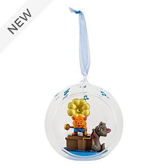 Disneyland Paris The Aristocats Glass Globe Hanging Ornament