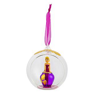 Disneyland Paris Tinker Bell and Vase Glass Bauble