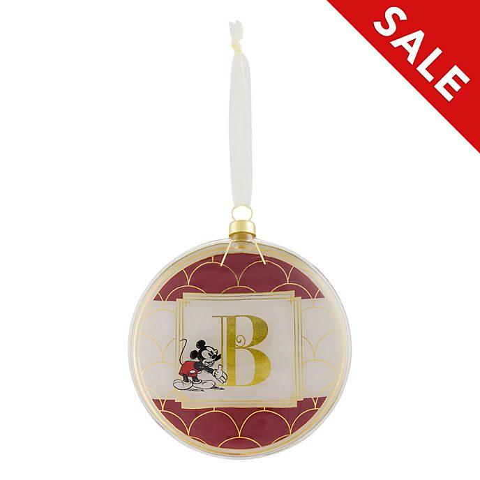 Disneyland Paris Hanging Ornament - Letter B