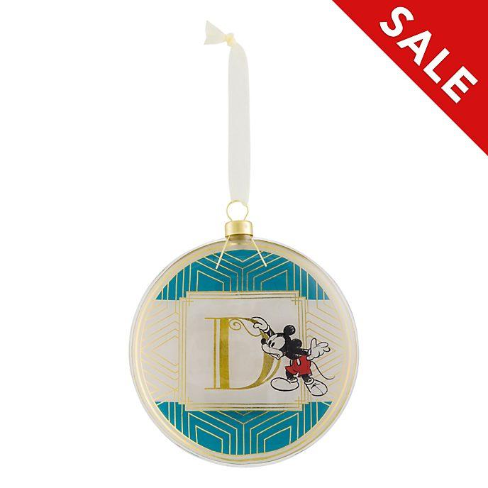 Disneyland Paris Hanging Ornament - Letter D