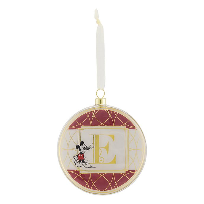 Disneyland Paris Hanging Ornament - Letter E
