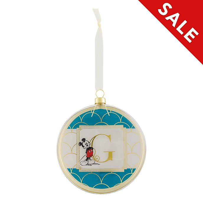 Disneyland Paris Hanging Ornament - Letter G