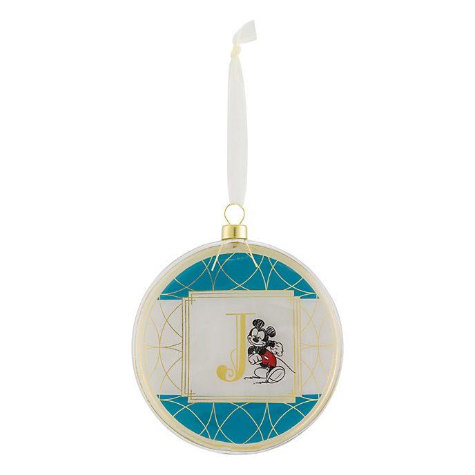 Disneyland Paris Hanging Ornament - Letter J