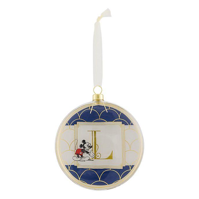 Disneyland Paris Hanging Ornament - Letter L