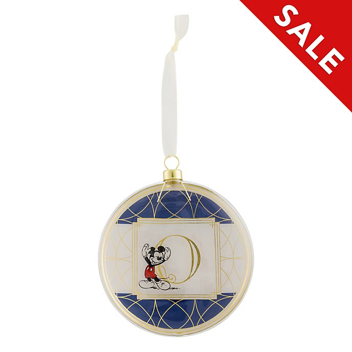 Disneyland Paris Hanging Ornament - Letter O