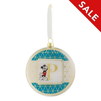 Disneyland Paris Hanging Ornament - Letter P
