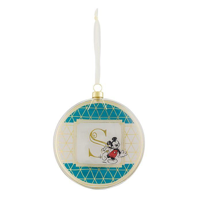 Disneyland Paris Hanging Ornament - Letter S