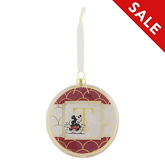 Disneyland Paris Hanging Ornament - Letter T