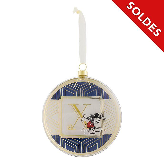 Décoration à suspendre DisneylandParis - LettreX