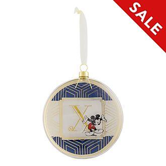 Disneyland Paris Hanging Ornament - Letter X