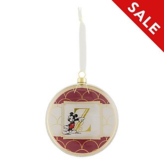 Disneyland Paris Hanging Ornament - Letter Z