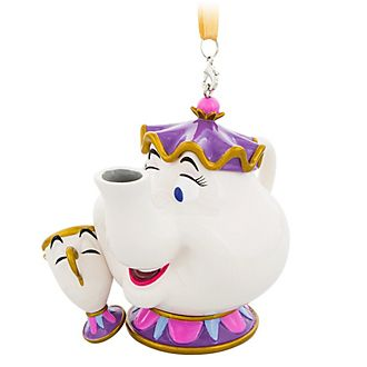 Disneyland Paris Mrs. Potts and Chip Hanging Ornament