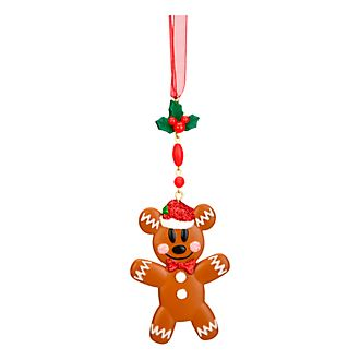 Disneyland Paris Mickey Mouse Gingerbread Hanging Ornament