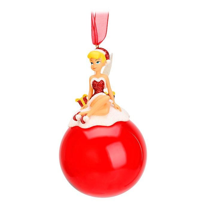 Disneyland Paris Tinker Bell Christmas Hanging Ornament