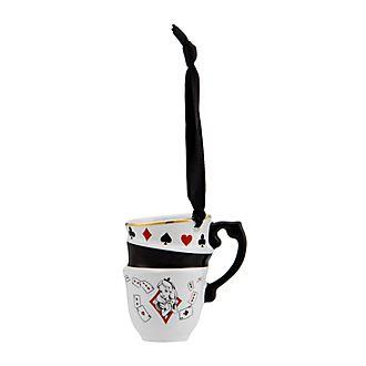 Disneyland Paris Alice in Wonderland Stacked Teacups Hanging Ornament