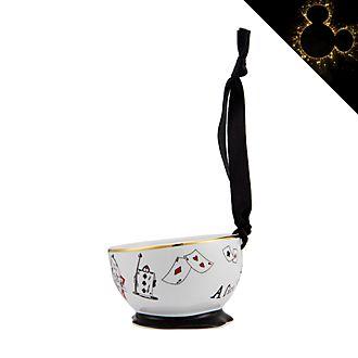 Disneyland Paris Alice in Wonderland Bowl Hanging Ornament