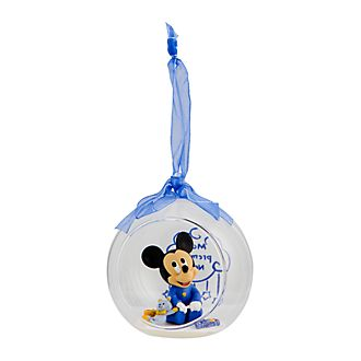 Disneyland Paris Mickey Mouse First Christmas Hanging Ornament