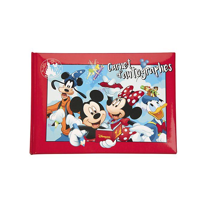 Disneyland Paris Carnet d'autographes Mickey et ses amis