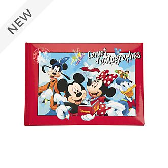 Disneyland Paris Mickey and Friends Autograph Book