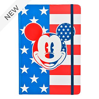 Disneyland Paris Mickey Mouse Americana A5 Notebook