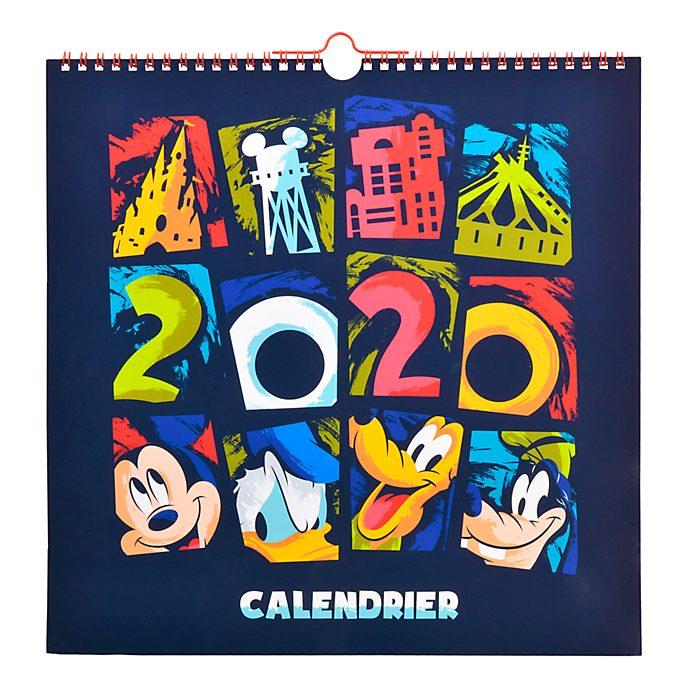 Disneyland Paris Mickey and Friends 2020 Calendar