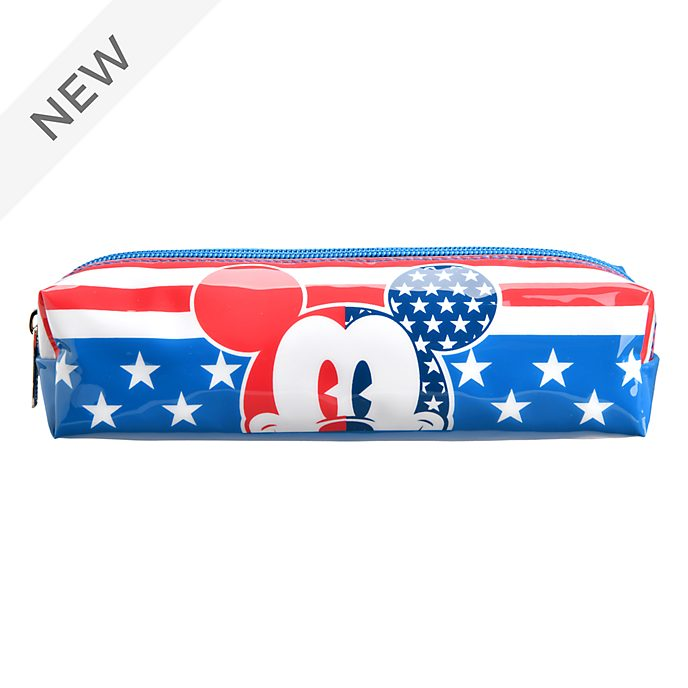 Disneyland Paris Mickey Mouse Americana Pencil Case