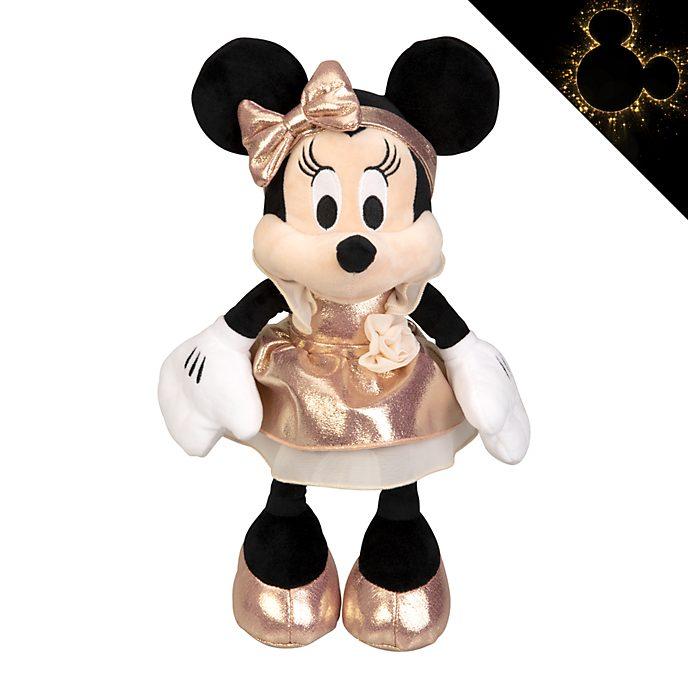 Disneyland Paris Minnie Mouse Rose Gold Medium Soft Toy