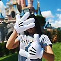 Disneyland Paris Gants de déguisement Mickey pour enfants