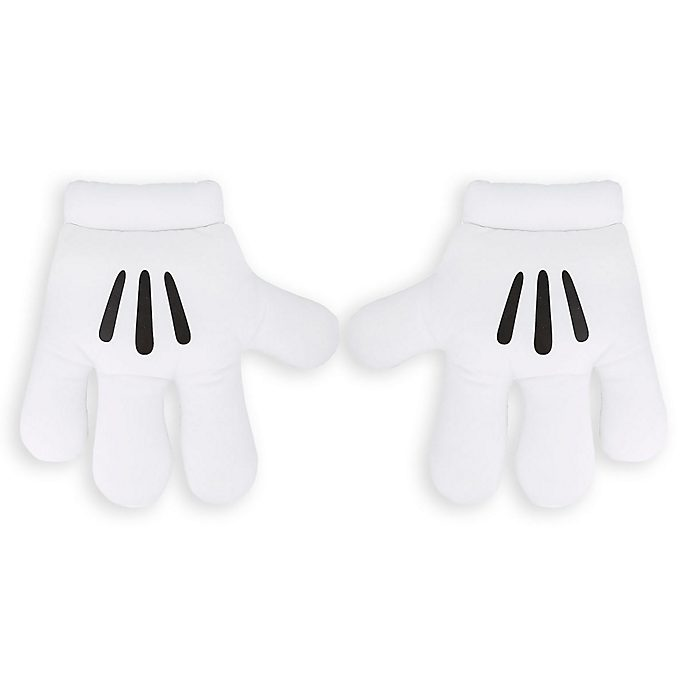 Disneyland Paris Mickey Mouse Costume Gloves For Kids