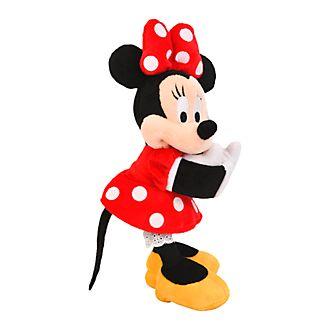Disneyland Paris Minnie Mouse Snap Bracelet Mini Soft Toy