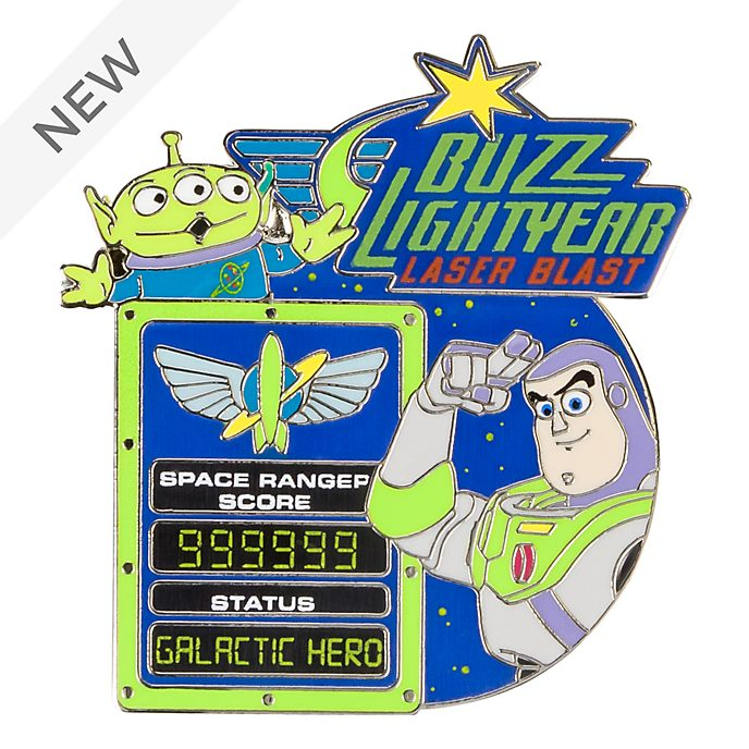 Disneyland Paris Buzz Lightyear Laser Blast Pin